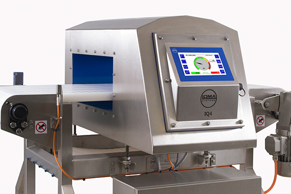IQ4 Stop on Detect Reject system for large food products
